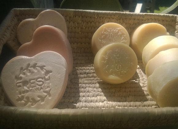 Fresh Beauty Bar's rose soaps