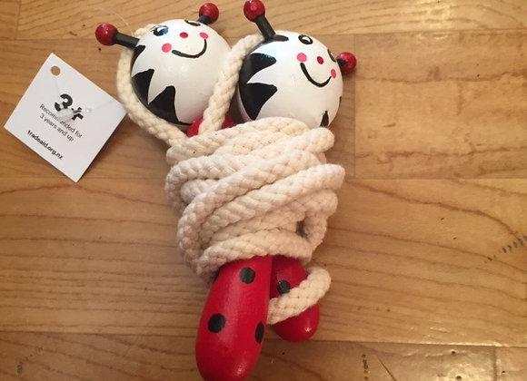 Skipping rope - ladybird