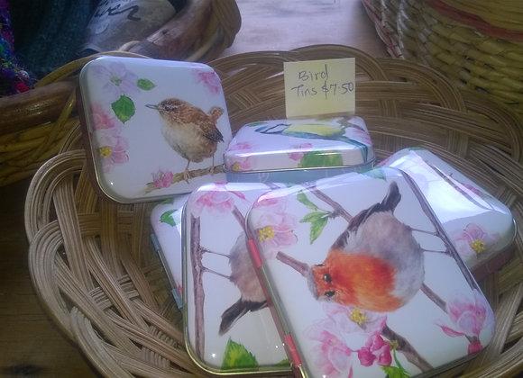 Bird tins