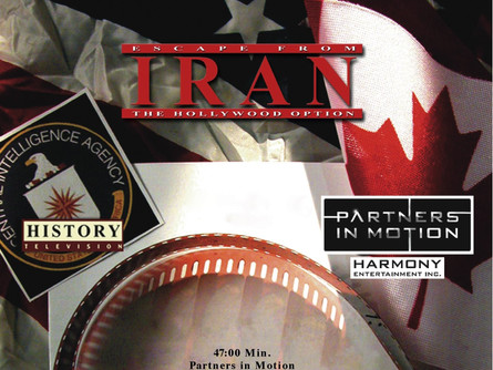 ESCAPE FROM IRAN: THE HOLLYWOOD OPTION- Starts on DoxNM - November 05.