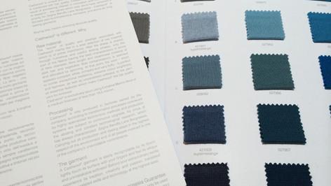 衣料品の企画制作事業