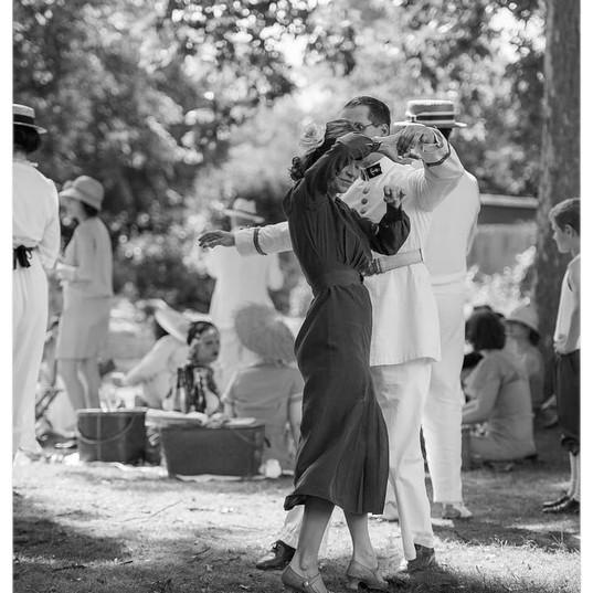VINTAGE DANCE DUO swing avec Anne Vercas