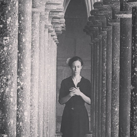 Au Mont Saint-Michel with Anne Vercasson