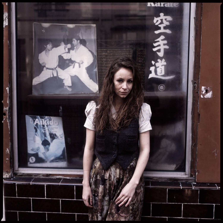 Anne Vercasson street portrait by Lauren