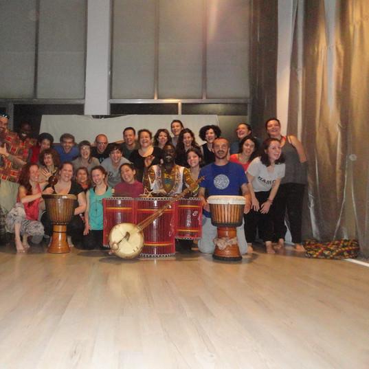 AFRICAN DANCE workshop with Dauda in Gre