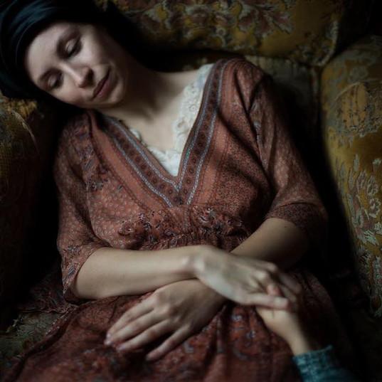 Anne Vercasson et l'enfant par Isaure An