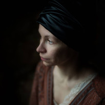 portrait with Anne Vercasson by Isaure A