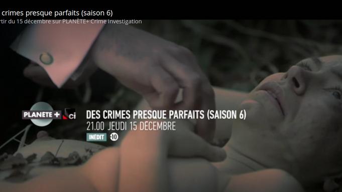 DES CRIMES PRESQUE PARFAITS canal+