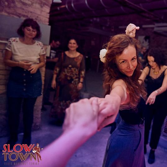 BLUES dance avec Anne Vercasson au Slow