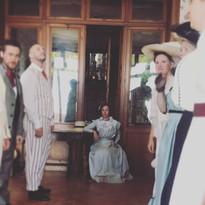RECONSTITUTION HISTORIQUE 1900 bal Anne