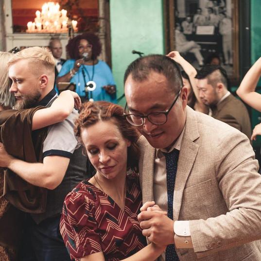 DUO BLUES dance avec Anne Vercasson at B