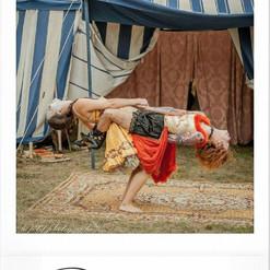 cirque forain ancien with Anne Vercasson