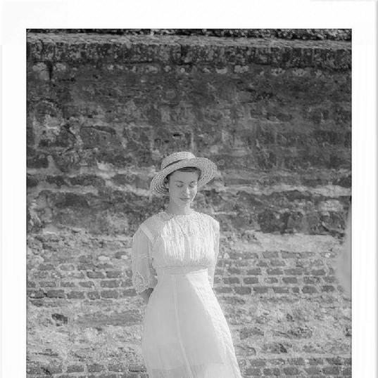 RECONSTITUTION HISTORIQUE 1900 avec Anne