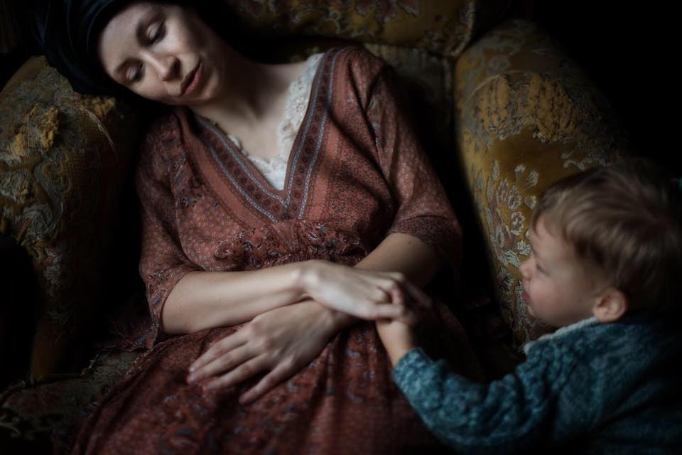 Anne Vercasson et AEneas par Isaure Ansk