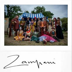 ZAMPANI RECONSTITUTION HISTORIQUE cirque