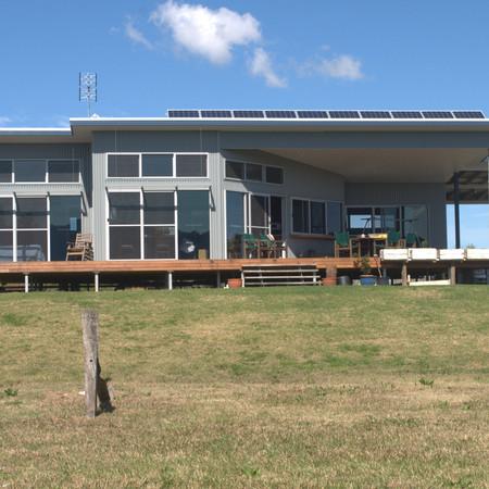 Rural Custom Off Grid Passive Solar Design Macleay NSW