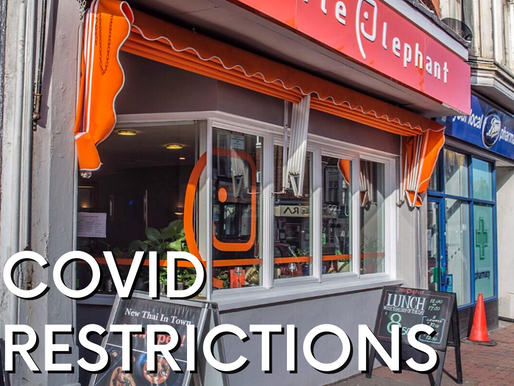 COVID RESTRICTIONS UPDATE
