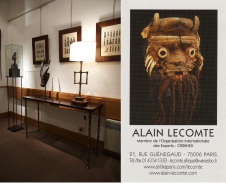 Alain Lecomte tribal Art gallery