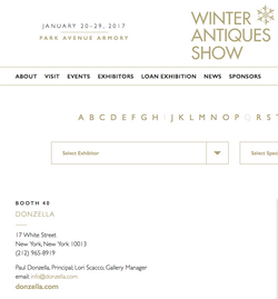Winter antiques Show 2017