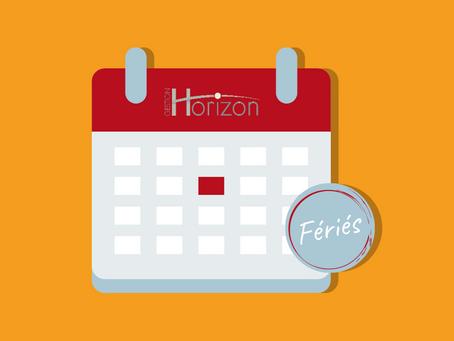 Jours fériés du 24 juin et 1er juillet…la Loi dit quoi?