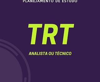 TRT - Analista ou Técnico