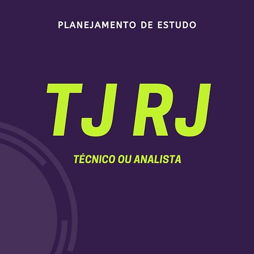 TJ RJ - Analista ou Técnico