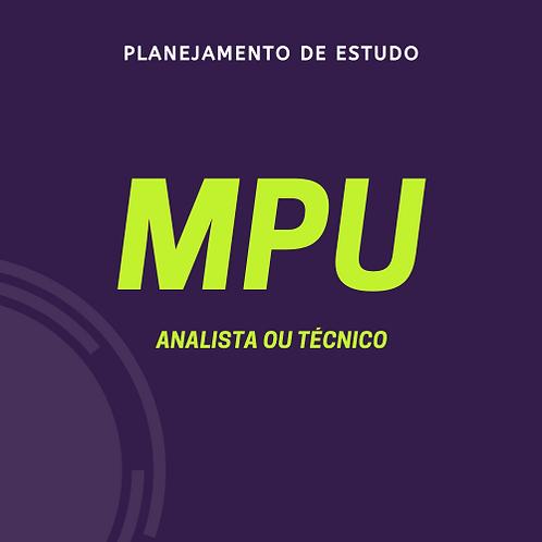 MPU - Analista ou Técnico