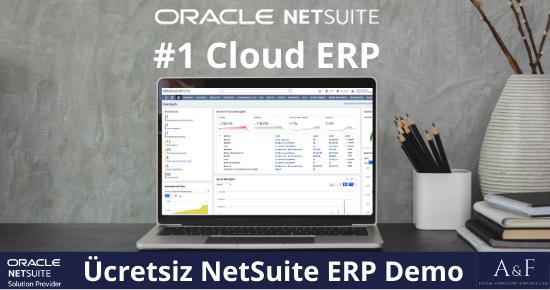 Ücretsiz NetSuite ERP Demo