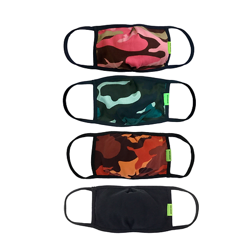 MODE 03 Mask - Camo Collection 4-pk