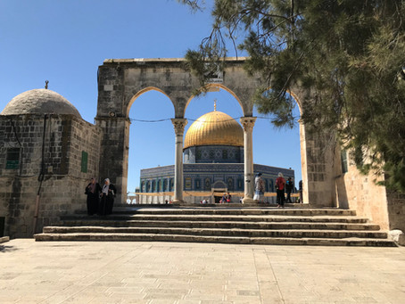 The Dome of the Rock's Octagonal Base and Eight Gates:  Vestiges of a Roman Temple?