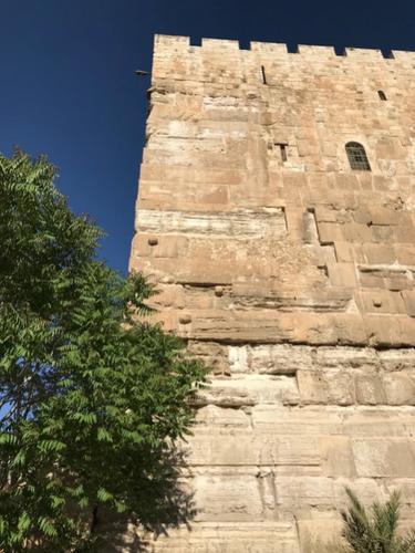SE corner of the Temple Mount