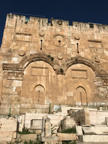 Eastern Gate to the Temple Mount