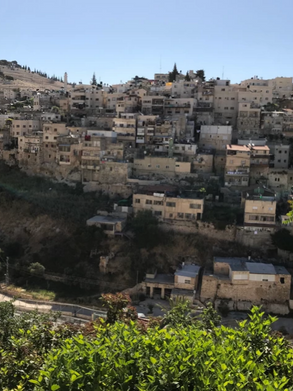 Silwan neighborhood in East Jerusalem