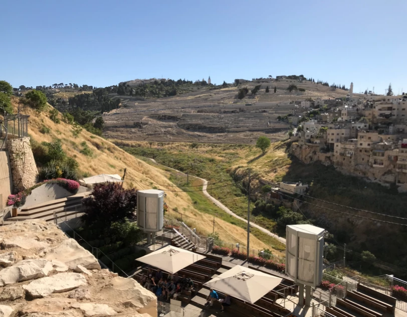 Mount of Olives ove rth Kidron Valley