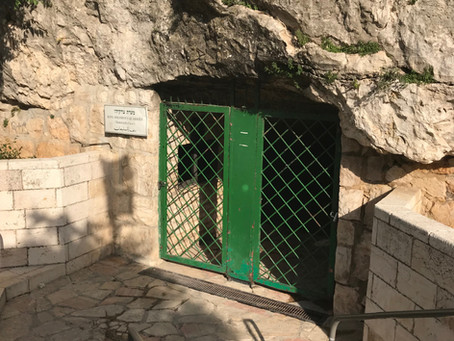 Zedekiah's Cave a.k.a. Solomon's Quarry and the Macabre Story not Often Told
