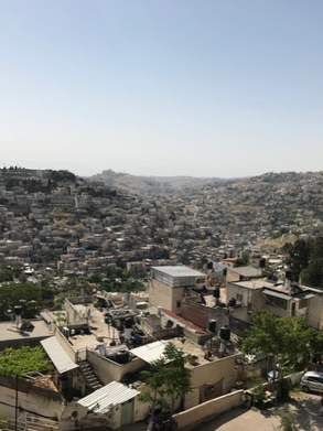 Lower Kidron Valley beyond City of David