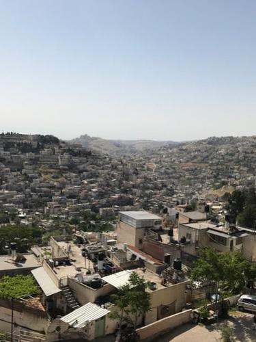 Lower Kidron Valley beyond City of David