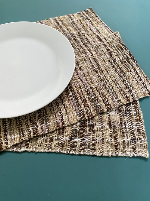 Rustic placemats (set of  4)
