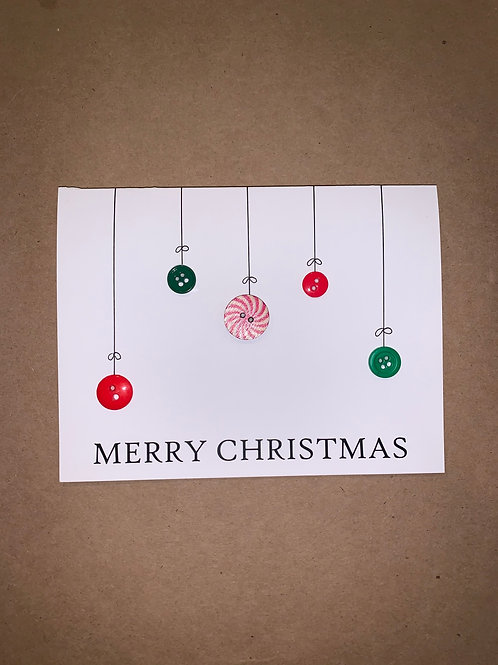 Christmas Ornament Cards