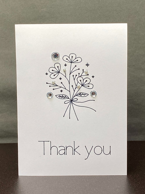 (5) Thank you Cards