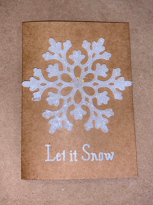 """Let it Snow"" Cards"