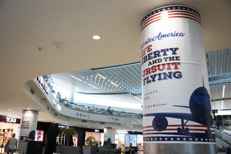 ATL Airport 4th of July Campaign
