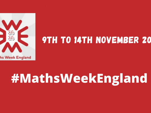 Maths Week England 2020