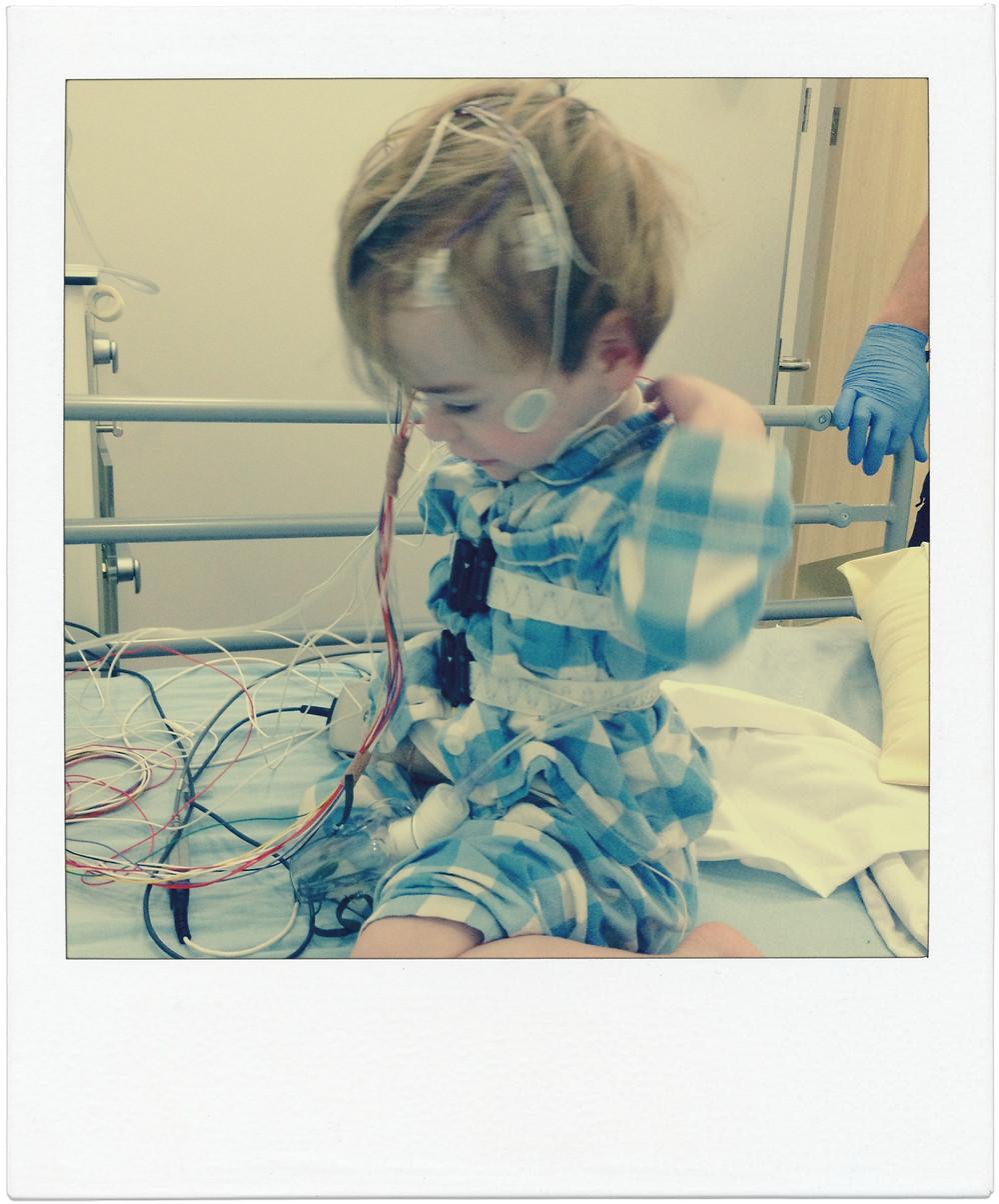 Sleep study at Evelina London Children Hospital