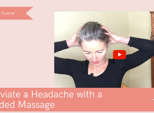 Relieve Headaches with a Guided Massage