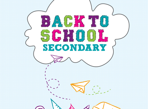 Back to School Activity Books for Primary & Secondary School