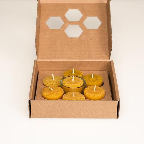 Teelichter in der Geschenkbox