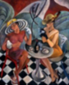 Cosi Fan Tutte Le Belle painting by Anya Slonim.j