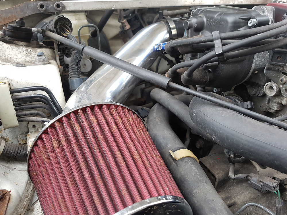 Custom air intake filter