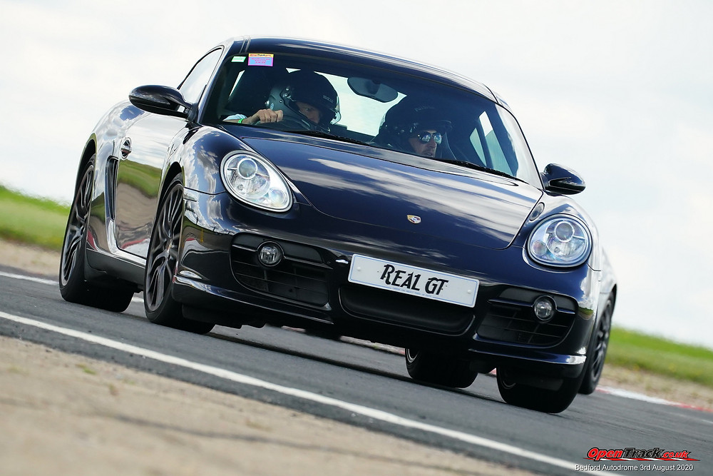 Porshce Trackday with Real GT